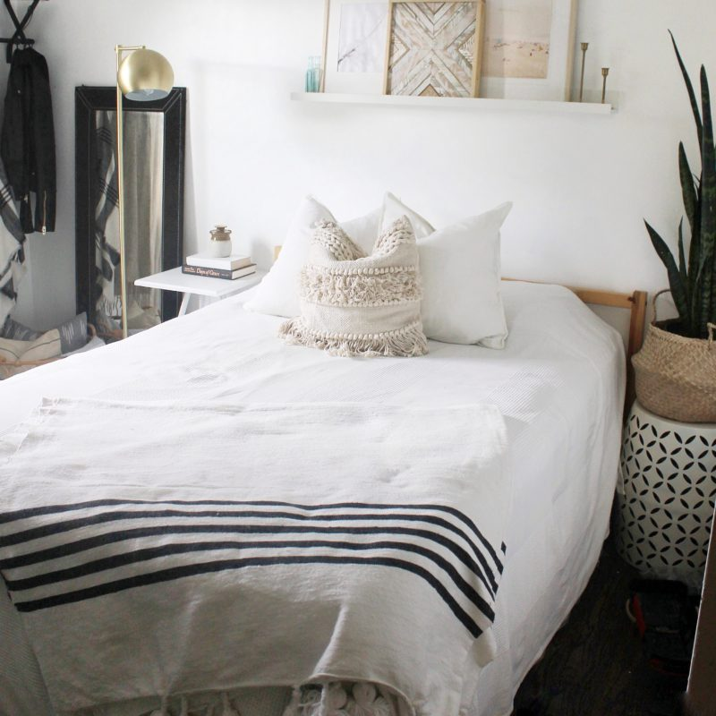 Simply Styled Guest Room