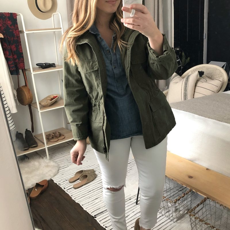 Style Session: Ways to Wear a Utility Jacket